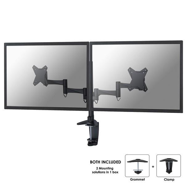 Newstar FPMA-D1330DBLACK flat panel desk mount