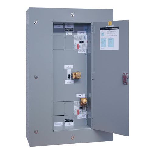 Tripp Lite 3 Breaker Maintenance Bypass Panel for SU60KX, SU60KTV