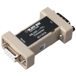 Black Box IC1157A serial converter/repeater/isolator RS-232 Beige,Black