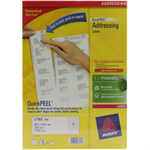 Avery L7163-250 White Self-adhesive label addressing label