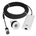 Axis P1244 IP security camera Indoor Black,White