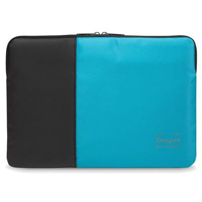 "Targus TSS94802EU notebook case 35.6 cm (14"") Sleeve case Black,Blue"