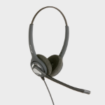 JPL 402PB Binaural Head-band Black headset