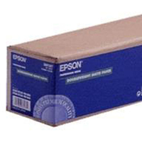 "Epson Doubleweight Paper Roll, 44"" x 25 m, 180g/m² large format media"