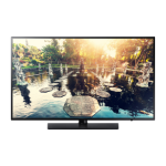 "Samsung HG49EE694DK 124.5 cm (49"") Full HD Titanium 20 W A++"