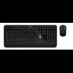 Logitech ADVANCED Combo toetsenbord RF Draadloos QWERTY Belgisch Zwart