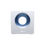 ASUS Blue Cave wireless router Dual-band (2.4 GHz / 5 GHz) Gigabit Ethernet Blue,White