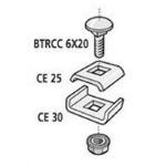 BTRCC 1/4 EZ-TORNILLERIA CABLOFIL - BOLSA CON 50 PIEZAS dir