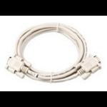 Intermec RS232 serial cable White 1.8 m DB9F DB9M
