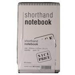 White Box WB SHORTHAND NOTEBOOK 80LF