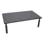 Tripp Lite Monitor Riser for Desk, 18 x 11 in. - Height Adjustable, Metal, Black
