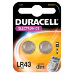 Duracell LR43 Alkaline 1.5V non-rechargeable battery