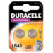Duracell LR43 non-rechargeable battery