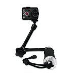 Veho VCC-A046-3HG camera monopod Aluminium Black