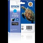 Epson C13T15724010 (T1572) Ink cartridge cyan, 26ml