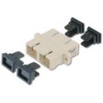 Digitus DN-96004-1 SC Black,Grey fiber optic adapter