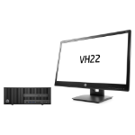 HP 200 280 G2 SFF + VH22 3.2GHz i5-6500 SFF Black PC