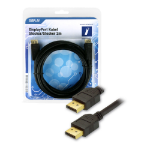 Innovation IT 5A 602787 DISPLAY DisplayPort cable 2 m Black