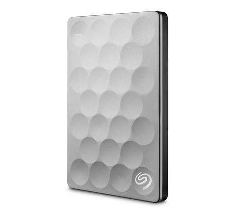 Seagate Backup Plus Ultra Slim 1TB external hard drive 1000 GB Platinum
