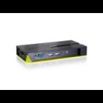 LevelOne 4-Port USB VGA KVM Switch, audio support
