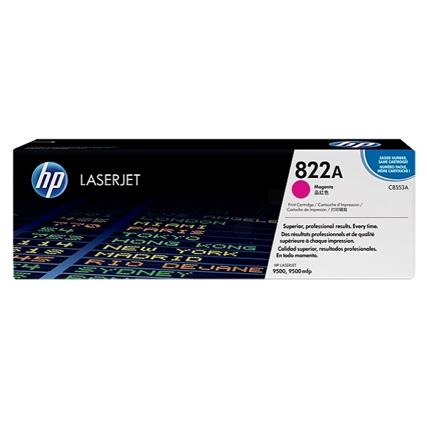 HP C8553A (822A) Toner magenta, 25K pages @ 5% coverage