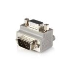 StarTech.com Right Angle VGA / VGA Cable Adapter Type 1 - M/F DB15 Grijs