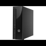 HP Slimline 411-a020na 1.6GHz N3700 SFF Black