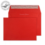 Blake Creative Colour Pillar Box Red Peel and Seal Wallet C6 114x162mm 120gsm (Pack 500)