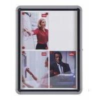 Nobo External Glazed Case Magnetic 6xA4