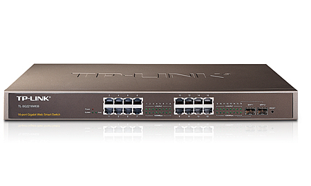 TP-LINK 16-Port Gigabit Web Smart Switch with 2 Combo SFP Slots