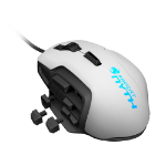 Roccat Nyth Modular MMO 12000 DPI Laser Gaming Mouse, 1.8m, White (ROC-11-901)