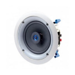 Leviton 6.5 IN-CEILING SPEAKER PAIR 60W GREAT SOUND WORKS WITH SONOS AMPS HEOS AMPS and MORE