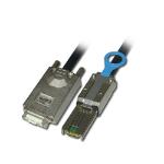 Lindy External Multilane SATA & SAS, 2m SATA cable Black