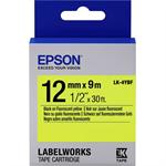 Epson C53S654010 (LK-4YBF) DirectLabel-etikettes, 12mm x 9m