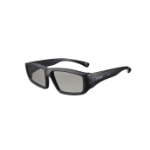 Epson ELPGS02A stereoscopic 3D glasses Black 5 pcs