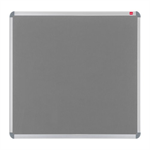 Nobo EuroPlus Felt Noticeboard Grey 1500x1000mm