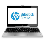 "HP EliteBook Revolve 810 G1 1.9GHz i5-3437U 11.6"" 1366 x 768pixels Touchscreen 4G Silver Hybrid (2-in-1)"