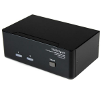 StarTech.com 2 Port Dual DVI USB KVM Switch with Audio & USB 2.0 Hub