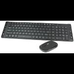 Perfect Choice PC-200925 RF inalámbrico Español Negro, Gris teclado