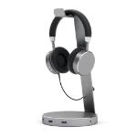Satechi ST-AHSHU3M Headphone holder 139.7x139.7x285.75mm, 408g, Grey