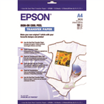 Epson Iron-on-transfer Paper, DIN A4, 124g/m², 10 Sheets T-shirt transfer