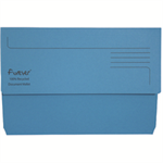 FOREVER BRIGHT MANILLA WALLET BLUE E