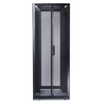 APC NetShelter SX 42U 750mm Wide x 1200mm Deep Enclosure Freestanding rack Black