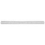 Fellowes 54450 binding cover Silver 100 pc(s)