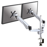 "Newstar FPMA-D975D 27"" Silver flat panel desk mount"