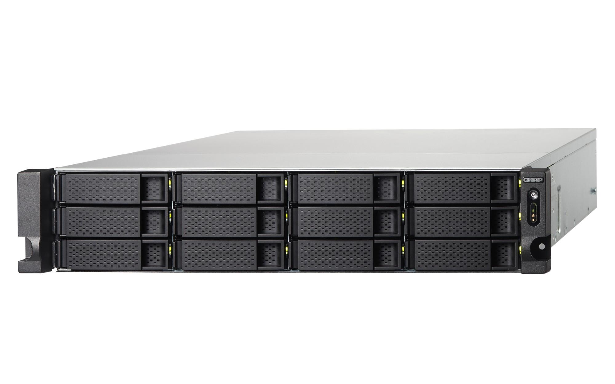 QNAP TS-1253BU Ethernet LAN Rack (2U) Zwart NAS