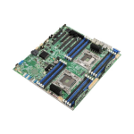 Intel S2600CW2SR Intel C612 LGA 2011 (Socket R) SSI EEB server-/werkstationmoederbord