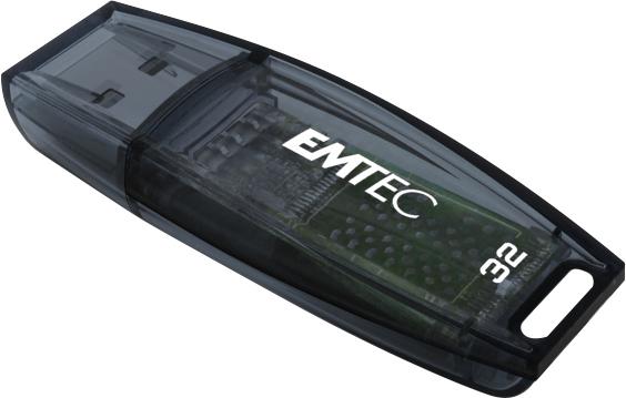 Emtec C410 32GB 32GB USB 2.0 Type-A Black USB flash drive