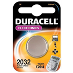 Duracell CR2032 Lithium 3V non-rechargeable battery