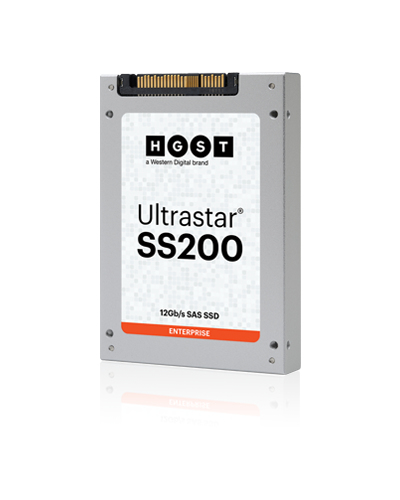 "Western Digital Ultrastar SS200 2.5"" 3840 GB SAS MLC"